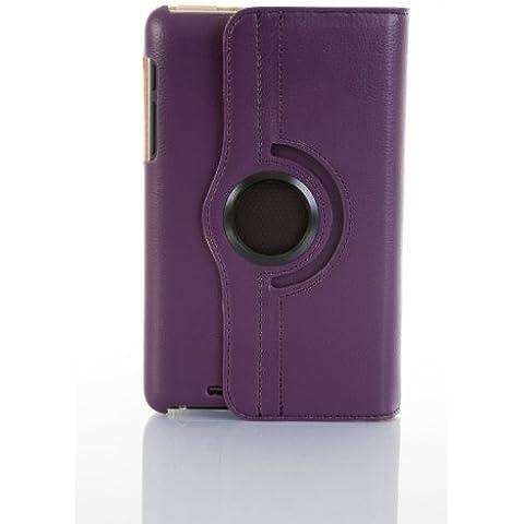 JAMMYLIZARD | Funda De Piel Giratoria 360 Grados Para Nexus 7 2012 (1ª Gen.) Smart Case, MORADO