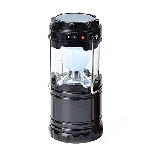 Tolina Camping Laterne Led Lamp Gartenlaterne Hohe Lichtperle Tragbare Anhänger Taschenlampe für Outdoor-Garten Wandern Angeln