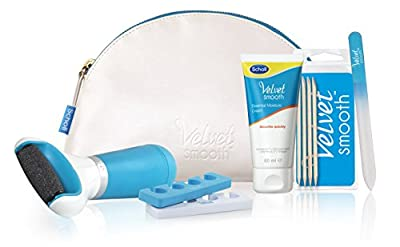 Scholl Pedi Velvet Smooth Essential Pedicure Collection Gift Set