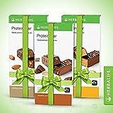 Herbalife - Barritas  Proteina Chocolate&Avellana / Vainilla&Almendras Limón (3 cajas de 14 unidades)