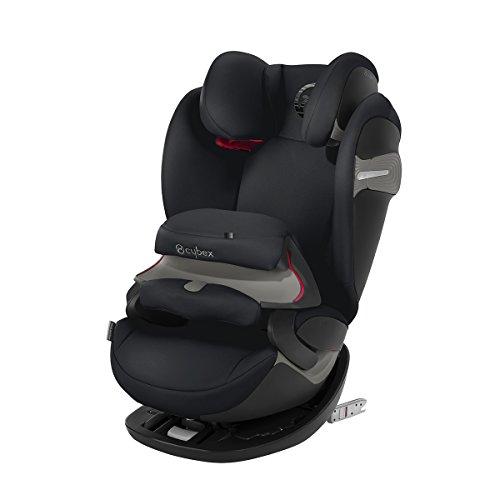 CYBEX Gold 2-in-1 Kinder-Autositz Pallas S-Fix, Für Autos mit und ohne ISOFIX, Gruppe 1/2/3 (9-36 kg), Ab ca. 9 Monate bis ca. 12 Jahre, Kollektion 2018, Lavastone Black