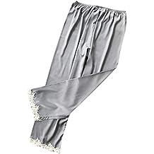 Resplend Pantalones De Pijama De Mujer,Mujeres Sexy Encaje LenceríA Nightwear Ropa Interior Babydoll Pantalones