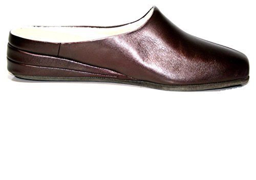 Fortuna Sylvia Cosy G 417061-12 Damen Hausschuhe Pantoffel Rot (Bordo)