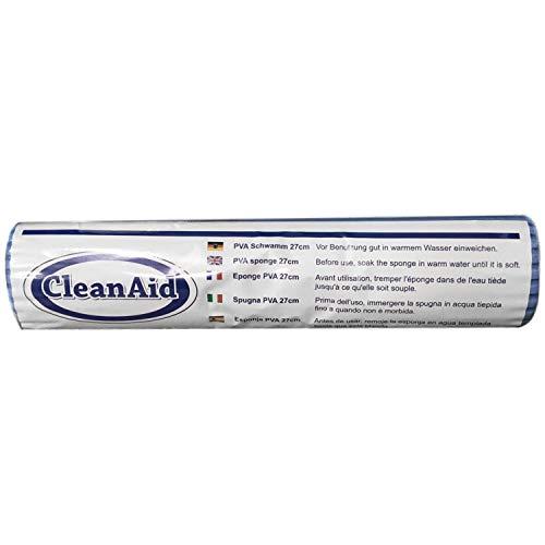 CleanAid OneTouch PRO Bodenwischer, Wischmop, Doppelwringer (Ersatz 27 cm)
