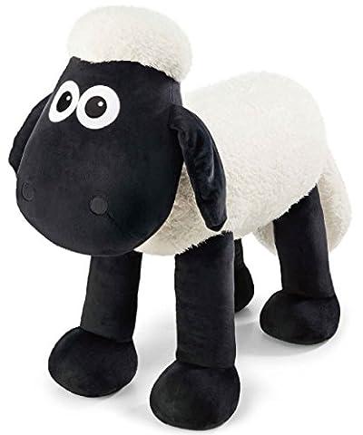 Nici 40848 Sitztier Shaun das Schaf - belastbar bis 100 kg, 80 cm