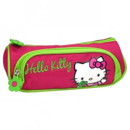 Hello kitty - Trousse scolaire double