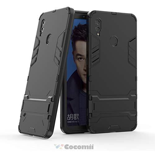 Cocomii Iron Man Armor Huawei Honor Note 10 Hülle [Strapazierfähig] Taktisch Griff Ständer Stoßfest Gehäuse [Militärisch Verteidiger] Case Schutzhülle for Huawei Honor Note 10 (I.Jet Black)