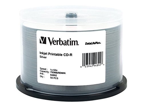 Verbatim CD-R 80MIN 700MB 52X Da...