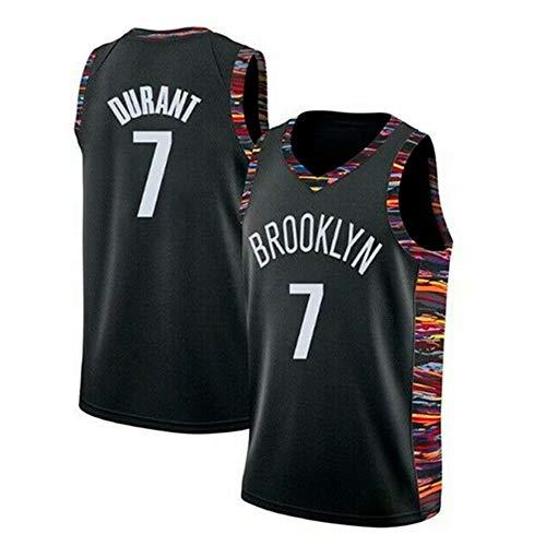 Kangrui Brooklyn Nets #7 Kevin Durant Jersey Basketball Uniform Trikot Atmungsaktiv Basketball Weste Komfortable, Schnelltrocknend für Basketballfans