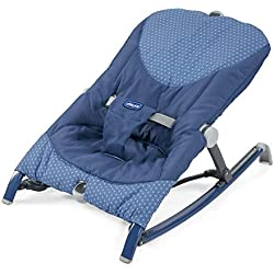 Chicco Pocket Relax - Hamaca ultracompacta y ligera, hasta 18 kg, color azul (Navy)