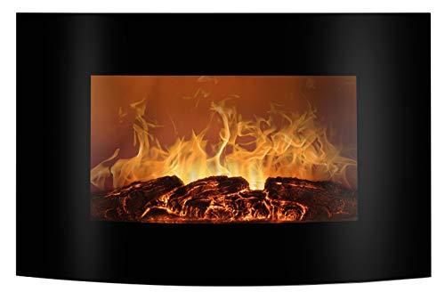 Bomann EK 6022 CB Elektrischer Kaminofen mit Flammensimulation und Heizlüfterfunktion,...