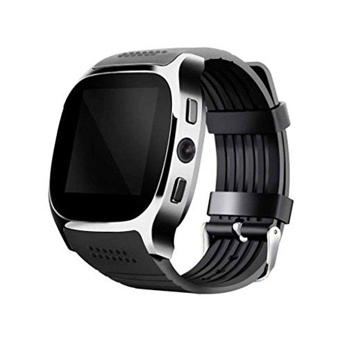 XHZNDZ Drahtlose Bluetooth Smart Watch mit Kamera, entsperren iPhone Smart Watch Sim-Kartensteckplatz Uhr, Wasserdicht Sport Smart Armband Uhr Kompatibel Android Phone IOS Kid Man Frau