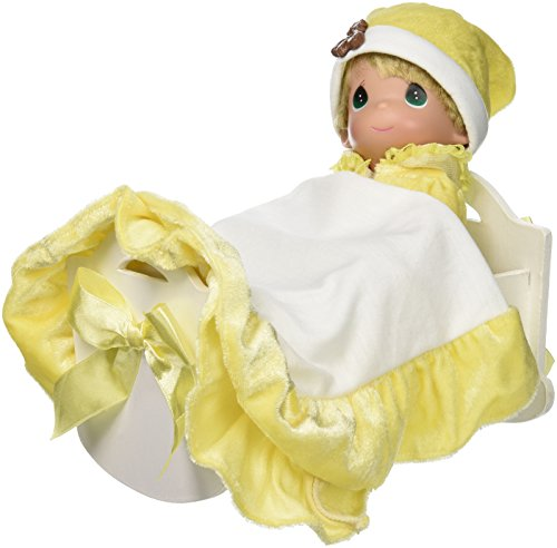 The Doll Maker Rock a Bye Baby Doll, Yellow, 9