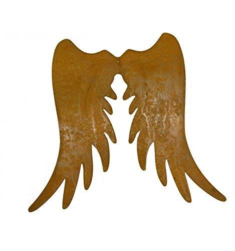 rost Engelsflügel schmal 30 cm hoch