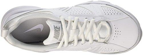Nike Wmns T-lite Xi, Entraînement de course femme Blanc (White/Metallic Silver/Pure Platinum/Black)