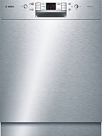 Bosch SMU53L15EU Serie 6 Silence Plus Unterbaugeschirrspüler/A++/258 kWh/Jahr/12 Maßgedecke/59,8 cm/Edelstahl/3-fach Wasserschutz