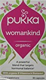Pukka Herbs Womankind Premenstrual, Organic B Vitamins & Shatavari, Pack of 30 Capsules