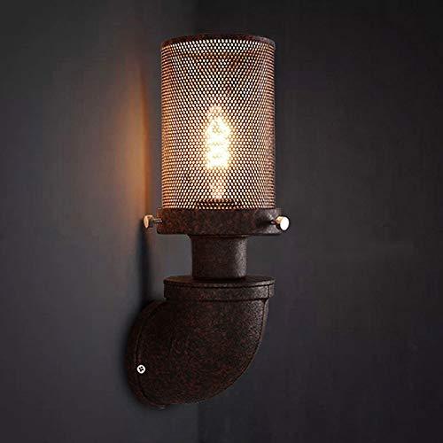Dicai Tubería Agua Metal Lámpara Pared Iluminación