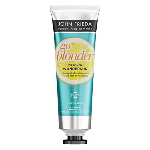 John Frieda Zitronen-Wunder-Kur für blondes Haar aus der Serie Sheer Blonde Go Blonder, 100 ml -
