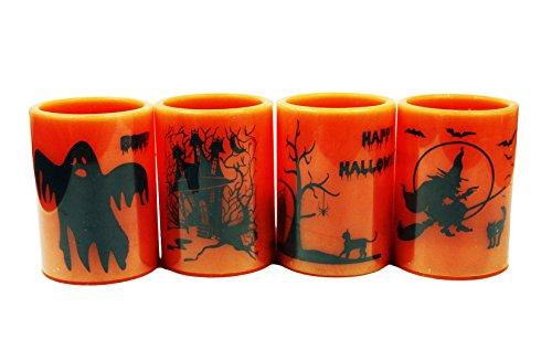 HAAC Led Kerze Leuchte Halloween Größe 10 cm -