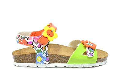 Grunland bambino Luce sandali multi arancio bambina SB0566 ARANCIONE 31