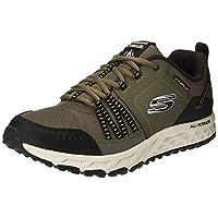 SKECHERS Escape Plan, Men's Road Running Shoes, Black (Olive/Black), 8 UK (42 EU)