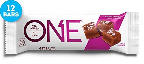 ISS Research Oh Yeah One Bar, 12x60g, Neue Geschmacksrichtungen (Salted Caramel) - Bar Caramel