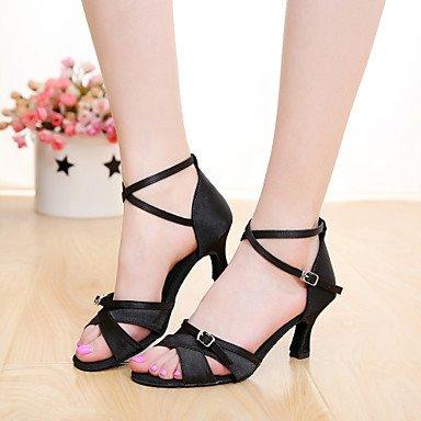 Scarpe da ballo latino Black