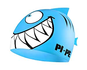 PI-PE Kinder Badekappe Sharky, Blau, One Size, PBS-1-B