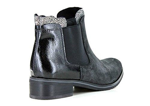 FUGITIVE VELVET - Bottines / Boots - Femme Gris