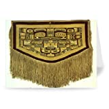 Blanket, Chilkat Tribe (wool & cedar bark).. - Grußkarten (2er Packung) - 17,8x12,7 cm - Standardgröße - Packung mit 2 Karten - Art247