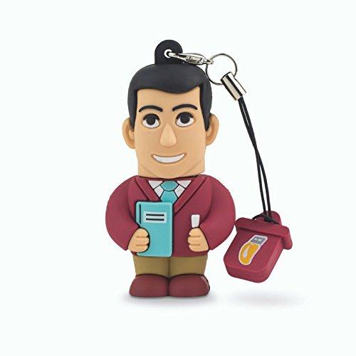 Professional usb insegnante uomo, simpatiche chiavette usb flash drive 2.0 memory stick archiviazione dati, portachiavi, pendrive 8 gb