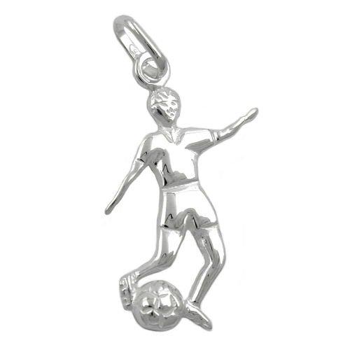 Gallay Anhänger Fußballer u. Ball Silber 925