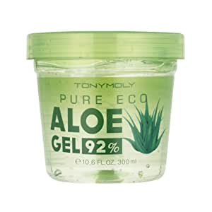 tony moly pure eco xxl aloe vera gel feuchtigkeitsgel mit 92 aloe vera gesichtsgel f r. Black Bedroom Furniture Sets. Home Design Ideas