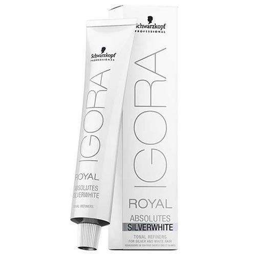 Royal White Salt (Schwarzkopf Igora Royal Absolutes SILVERWHITE Tonal Refiner (Slate Grey) by Schwarzkopf)