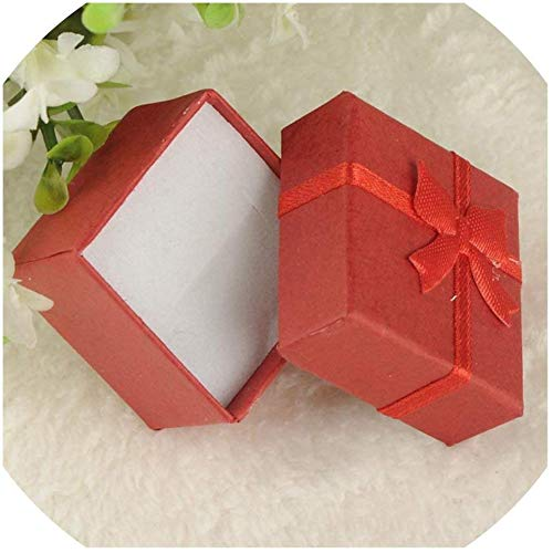 Bowen Jimmy Colorful 1Pc New 4X4X3Cm/8X5X2.5Cm/9X7X3Cm Jewery Organizer Box Rings Storage Cute Box Small Gift Box -