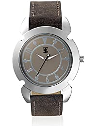 Teesort Analog Watch With Leather Strap WATCH-114