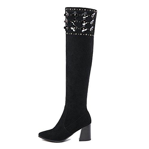 Nine SevenOver-the-knee Boots - Stivali donna Black