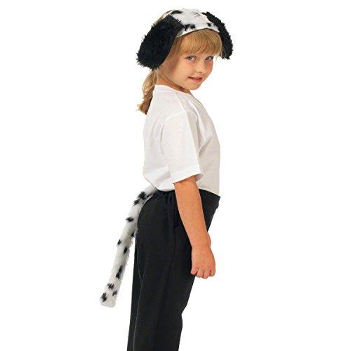 Unbekannt Charlie Crow Dalmatiner ohren und Schwanz für Kinder 3+ jahre.