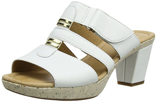 Gabor 25.732 Damen Sandalen Weiß (White Leather)