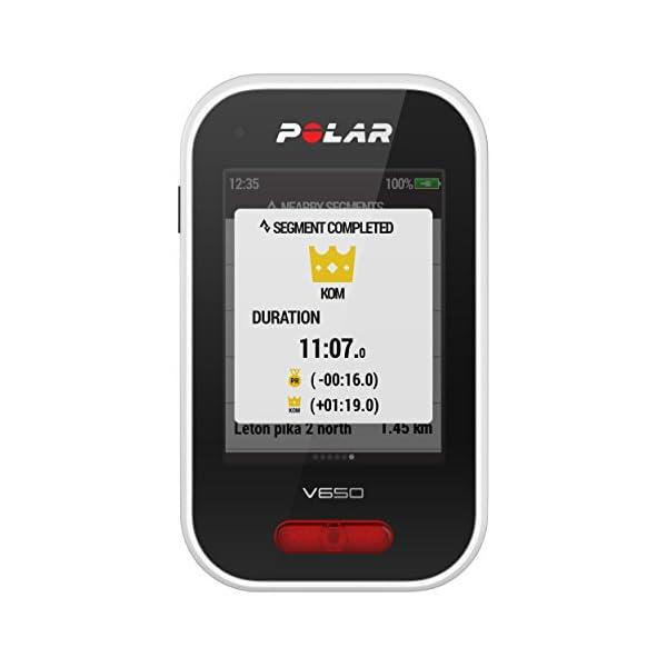 a703e880333 ... Compteur Vélo GPS Intégré avec Ceinture Capteur de Fréquence Cardiaque  Mixte Adulte