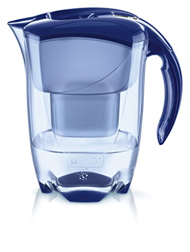 BRITA Elemaris Cool Blau 1024028, Azul, 2.4 litros, 4 Unidades
