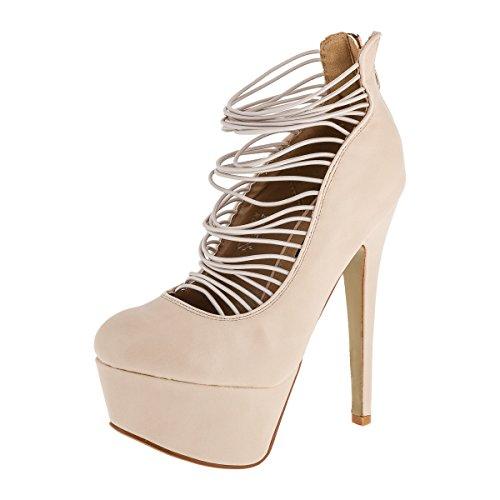 Sergio Todzi , chaussures compensées femme Beige - Beige