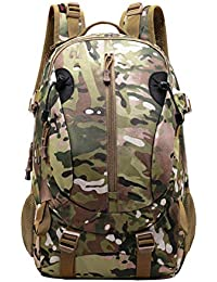JOTHIN 40L Deportes y Aire Libre Mochilas de Camping Nylon Mochila Táctica Militar Grandes Trekking Backpack