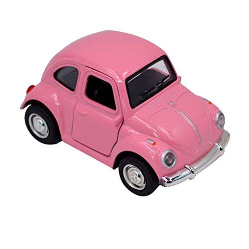 Milya Vintage Oldtimer Modellauto Nostalgic Art Spielzeugauto, Pink