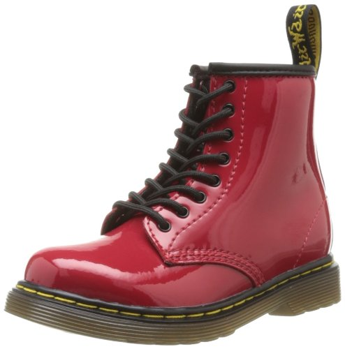 Patent RED, Mädchen Bootschuhe, Rot (Red), 23 EU (6 Kinder UK) (Red Patent Leder Mädchen Schuhe)