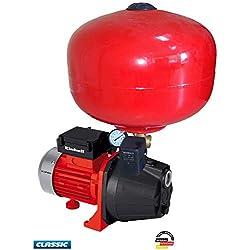 Einhell Pompe d'arrosage de surface GC-GP6036 (600 W, Débit max. 3.600 l/h, Hauteur de refoulement 40 m, Interrupteur marche/arrêt, Poignée de transport)