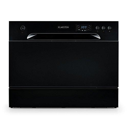 Klarstein Amazonia 6 • Lave-vaisselle de table • A+ •1380W • 6 couverts • 49 dB •noir