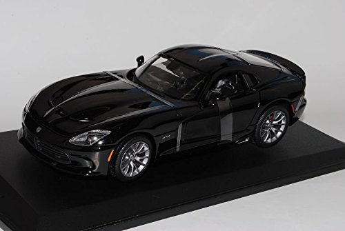 dodge-viper-srt-gts-schwarz-coupe-ab-2013-3-generation-1-18-maisto-modell-auto