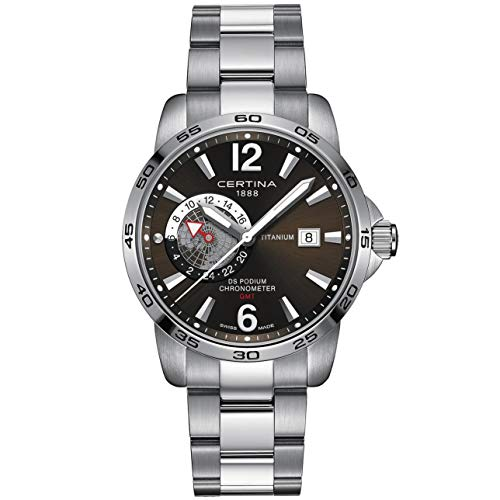 Certina DS Podium Reloj de Hombre Cuarzo 41mm C034.455.44.087.00